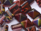 Pyramid beads 2-hole