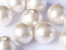 Cotton Half-drilled Pearls