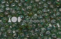 RounDuo Beads X 24 Aqua Celsian Matted